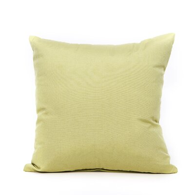 Reddy Throw Pillow Color: Lime