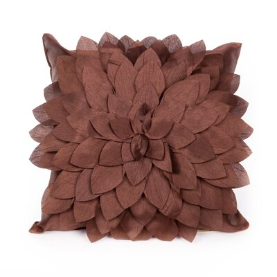 Northolt Throw Pillow Color: Chocolate