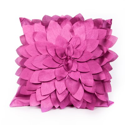 Northolt Throw Pillow Color: Mauve