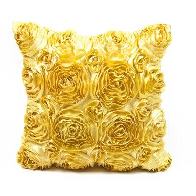 Edgware Throw Pillow Color: Yellow