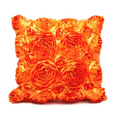 Edgware Throw Pillow Color: Orange