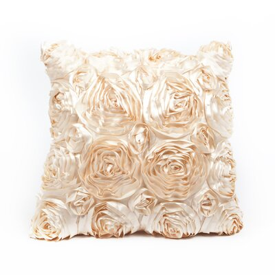 Edgware Throw Pillow Color: Natural