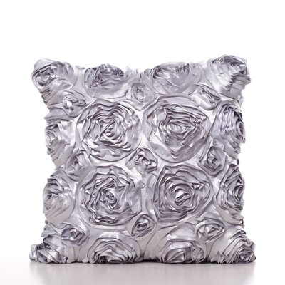 Edgware Throw Pillow Color: Silver