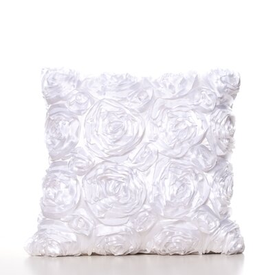 Edgware Throw Pillow Color: White