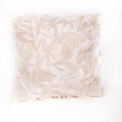 Cordes Throw Pillow Color: Cream