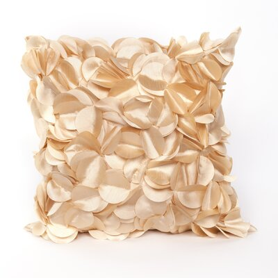 Cordes Throw Pillow Color: Gold