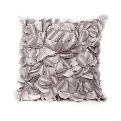 Cordes Throw Pillow Color: Silver