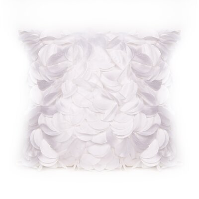 Cordes Throw Pillow Color: White