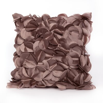 Cordes Throw Pillow Color: Linen