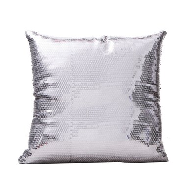 Dotan Throw Pillow Color: Silver