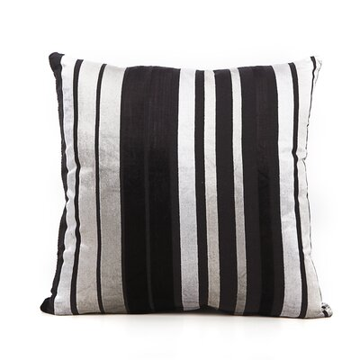 Cordlandt Throw Pillow Color: Black