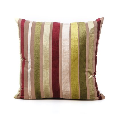 Cordlandt Throw Pillow Color: Green