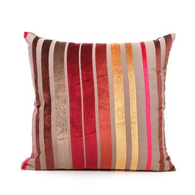 Cordlandt Throw Pillow Color: Red