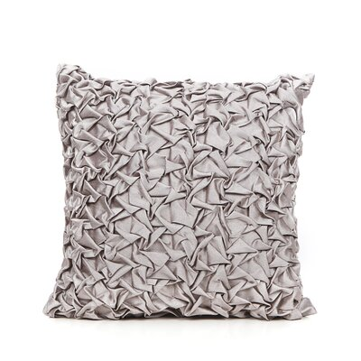 Cordoba Throw Pillow Color: Silver