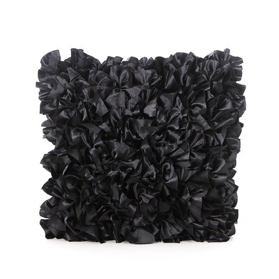 Elisha Throw Pillow Color: Black