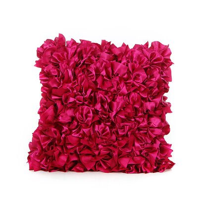 Elisha Throw Pillow Color: Fuchsia
