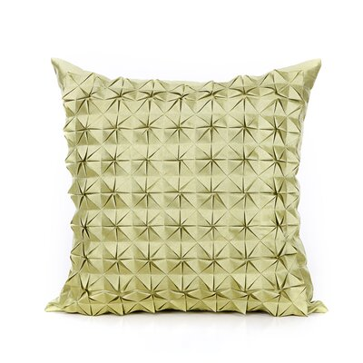 Birney Throw Pillow Color: Lime