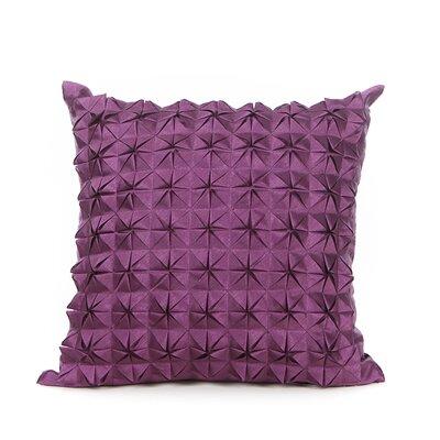 Birney Throw Pillow Color: Purple