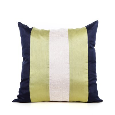 Redelong Throw Pillow Color: Lime