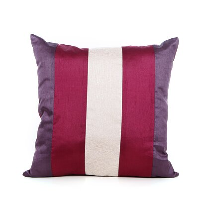 Redelong Throw Pillow Color: Plum