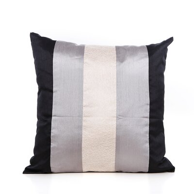 Redelong Throw Pillow Color: Silver