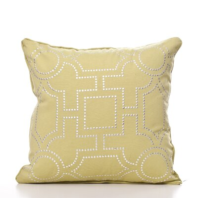 Tanya Throw Pillow Color: Lime