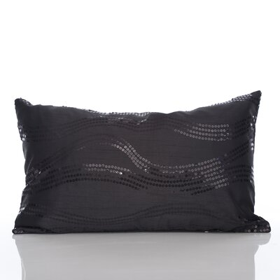 Topher Lumbar Pillow Color: Black