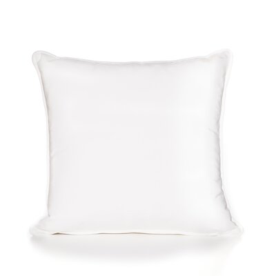 Jasper Throw Pillow Color: White