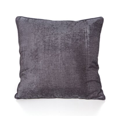 Bleeker Throw Pillow Color: Charcoal