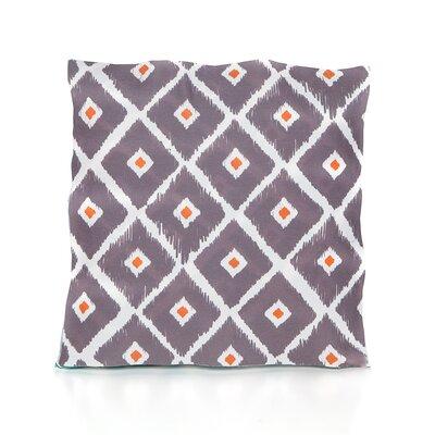 Mervela Throw Pillow Color: Charcoal