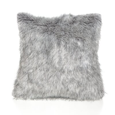 Malia Throw Pillow Color: Gray
