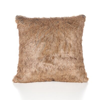 Malia Throw Pillow Color: Natural