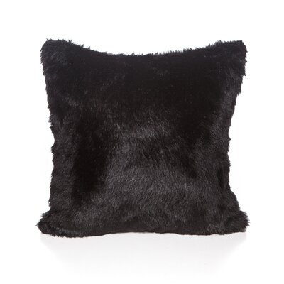 Rosita Throw Pillow Color: Black