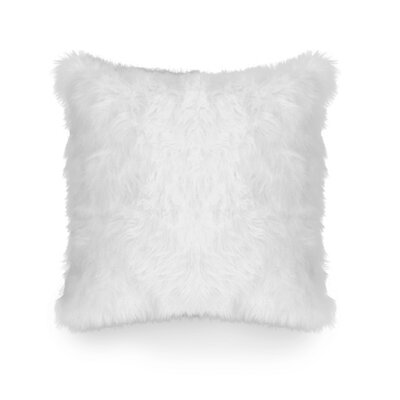Rosita Throw Pillow Color: White