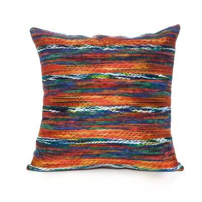 Atkin Throw Pillow Color: Orange