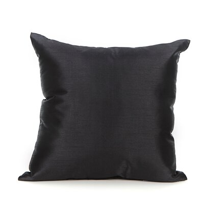 Reder Throw Pillow Color: Black