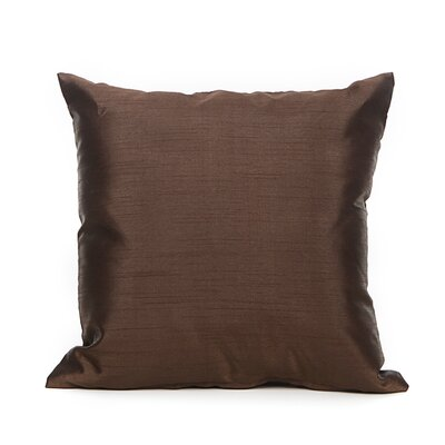 Reder Throw Pillow Color: Chocolate