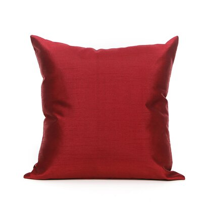 Reder Throw Pillow Color: Red