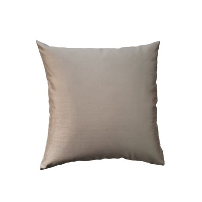 Reder Throw Pillow Color: Bronze