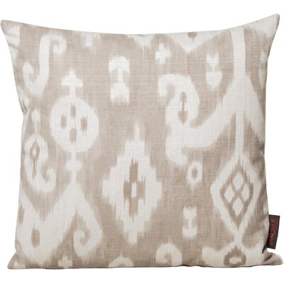Petrina Throw Pillow Color: Brown
