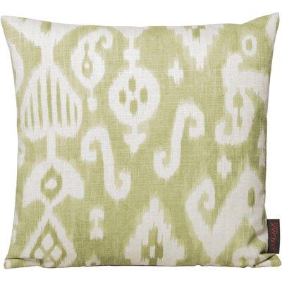 Petrina Throw Pillow Color: Green