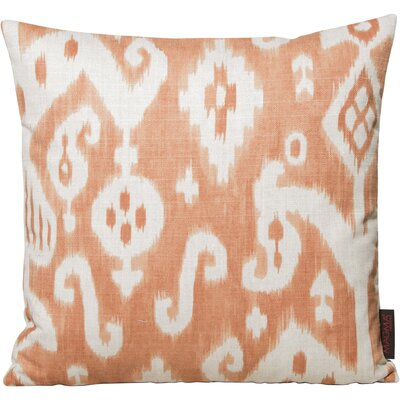 Petrina Throw Pillow Color: Orange