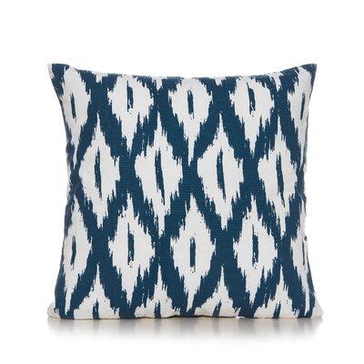Maribel Throw Pillow Color: Indigo