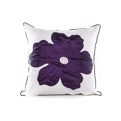 Bridgeport Cotton Throw Pillow Color: Natural