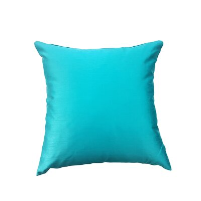 Reder Throw Pillow Color: Emerald