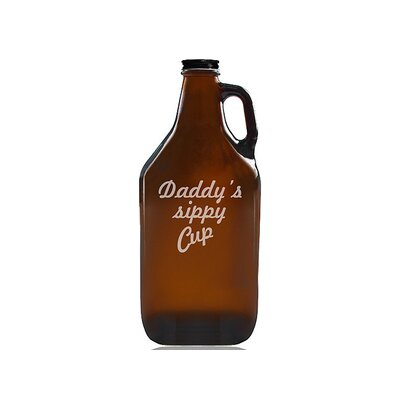 Daddy's Sippy Cup 64 oz. Growler CM100-19-GR