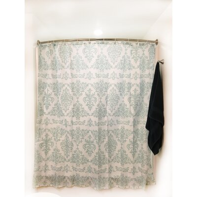 Blue Gothic Shower Curtain