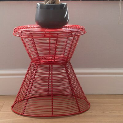 Wire End Table
