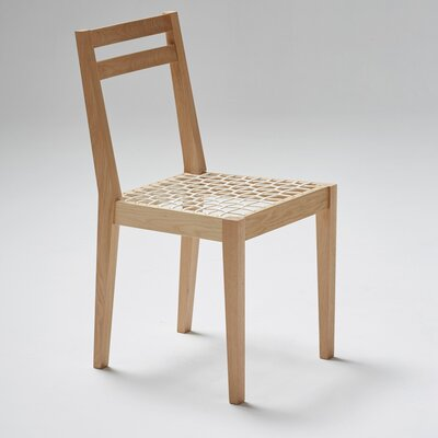 Riempie Side Chair Finish: Oak