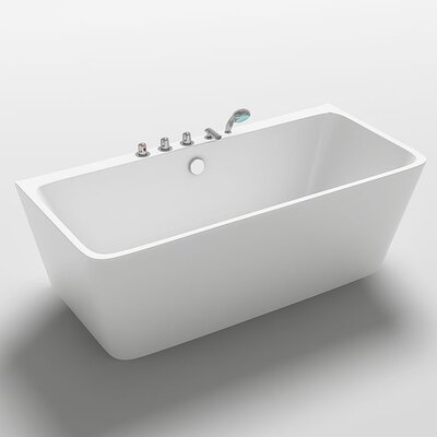 Iseo 67 x 29.5 Freestanding Soaking Bathtub
